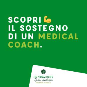 Scopri il sostegno di un Medical Coach, Fondazione Quattropani Onlus
