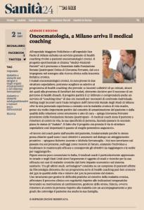 Il Sole24 ore cita Medici Pazienti Parenti con articolo sulla resilienza